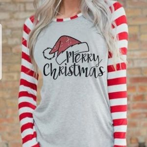 Cute long sleeved Christmas tshirt